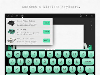 Tom Hanks designs typewriting app