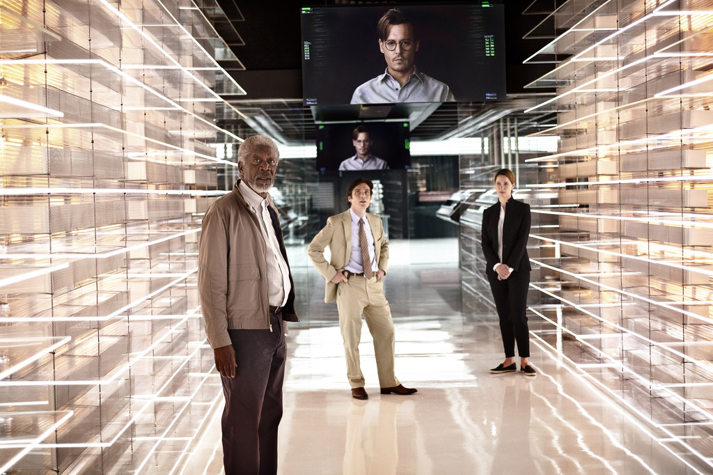 Review: 'Transcendence' like a clunky TED talk