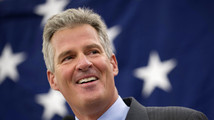 Former Massachusetts Senator Brown comes out swinging on Obamacare in New Hampshire