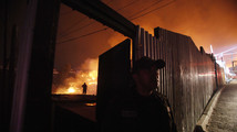 Fires still besiege Chile port; 15 dead, 500 hurt