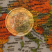 Euro zone inflation softens in June on energy dip