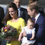 William, Kate, George
