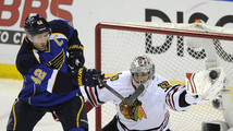 Corey Crawford, David Backes