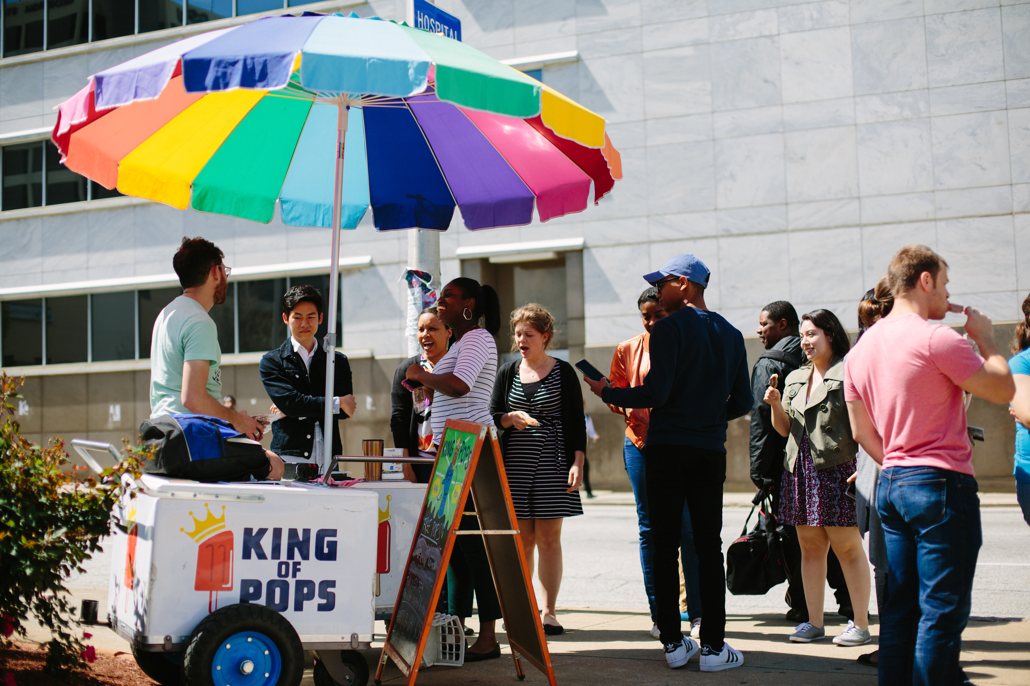 Atlanta King of Pops Stand