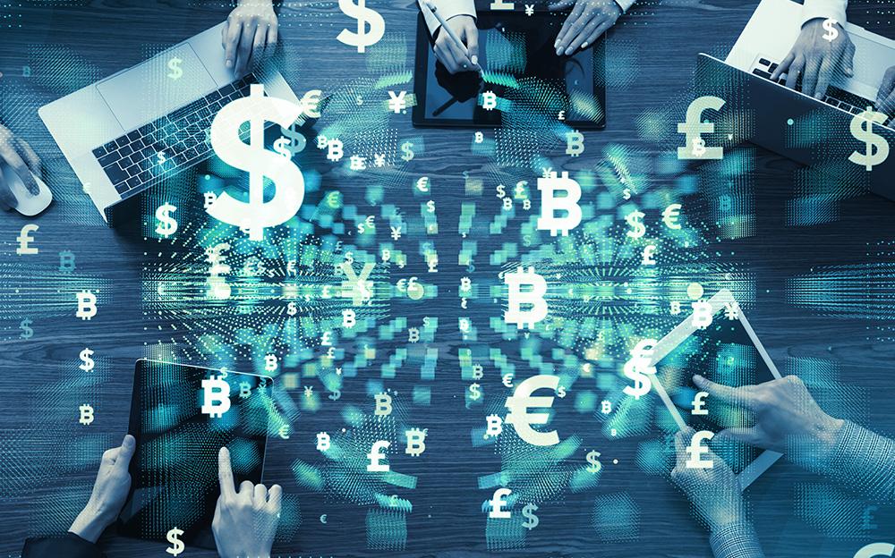 """メインビジュアル : デジタル化は""""脅威""""ではなく""""チャンス""""。Fintech(フィンテック)がもたらす金融サービスの未来"""