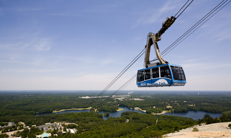 At Stone Mountain Park, hike or ride the gondola to the top. (Stone Mountain Park photo)