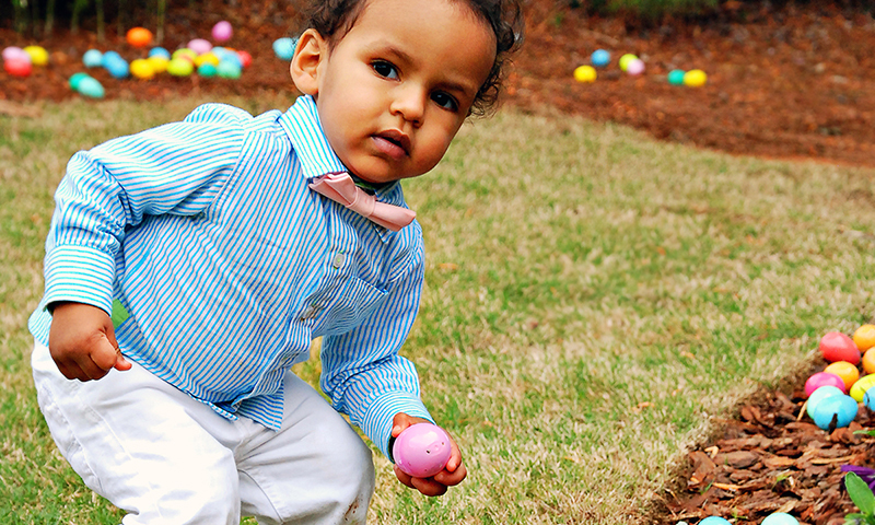 Bring the family and get your egg hunt on. (Joleen Pete Photography)