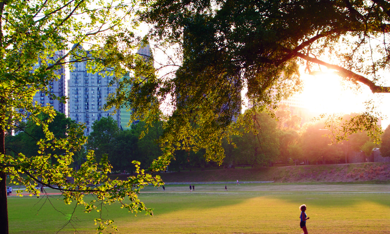 You've probably seen Midtown's Piedmont Park in a film or two.