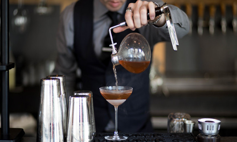 Grain Bar is an excellent choice for late night cocktails in the heart of Midtown