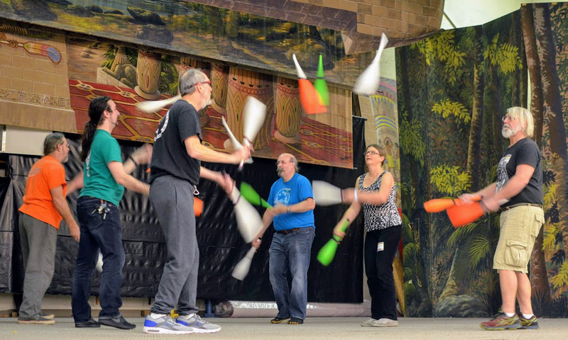 If you wanna have fun, hit the annual Jugglers Festival.