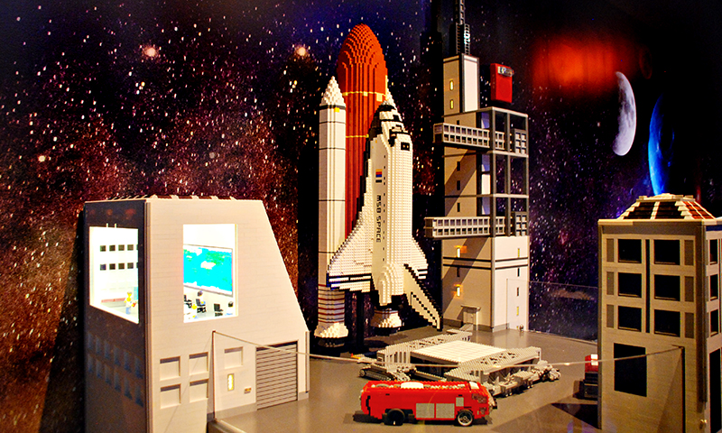 Space Mission has landed at LEGOLAND Discovery Center Atlanta. (Joleen Pete Photography)