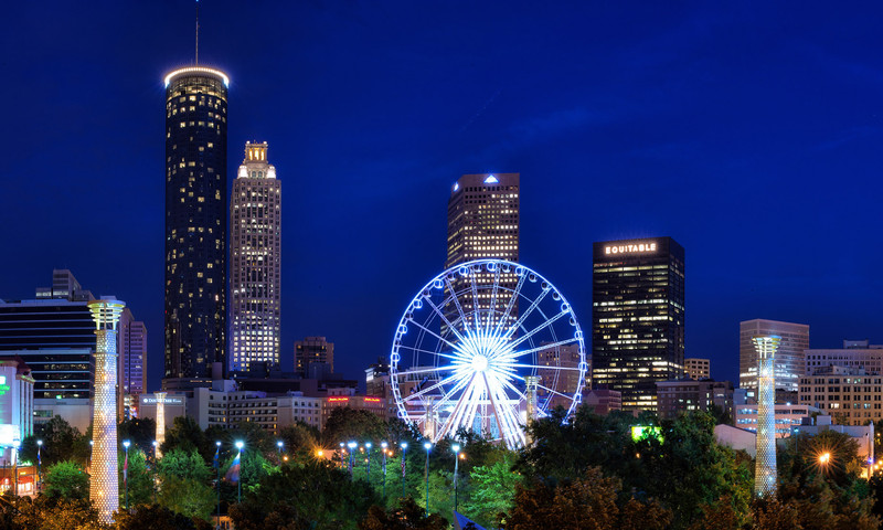 See the Atlanta sights with your special someone. (Gene Phillips, AtlantaPhotos.com)