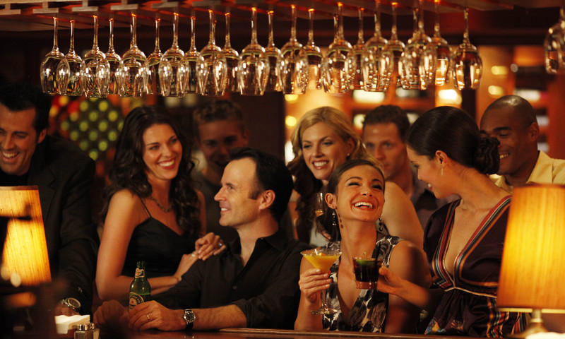 Grab your friends and celebrate your single-ness. (Image courtesy of Seasons 52)