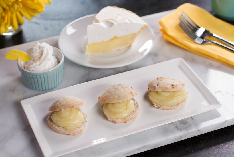 Lemon Meringue Scones Recipe