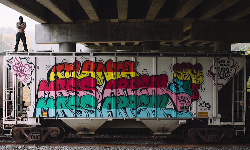 Off the Wall Interview with Graffiti Artist Dr  Dax