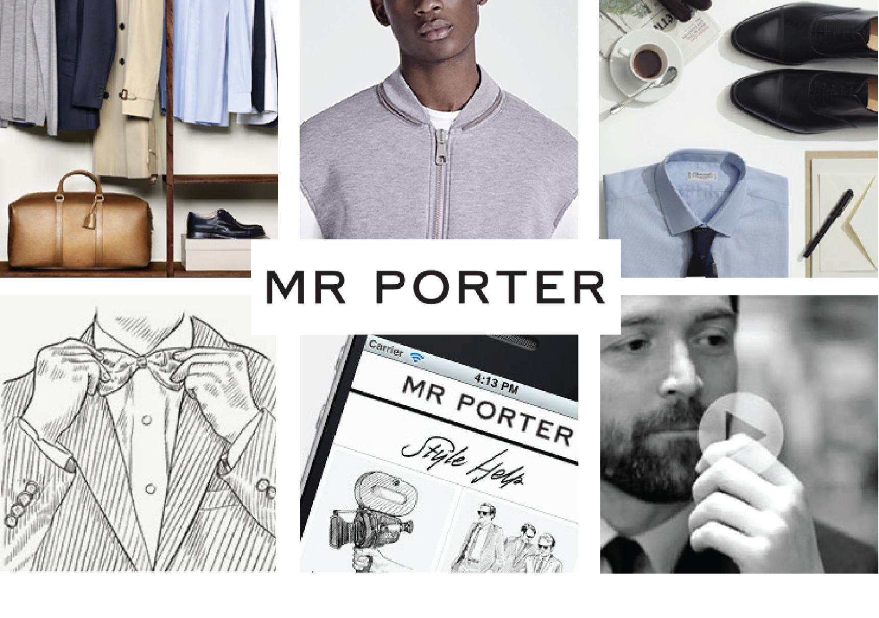 Mr Porter Brands as Publishers