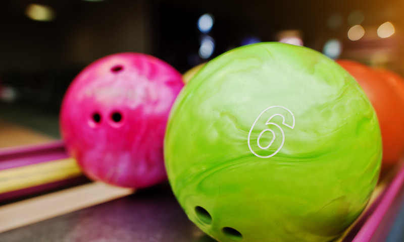 Have a ball on the lanes at Stars and Strikes. (ASphotowed)