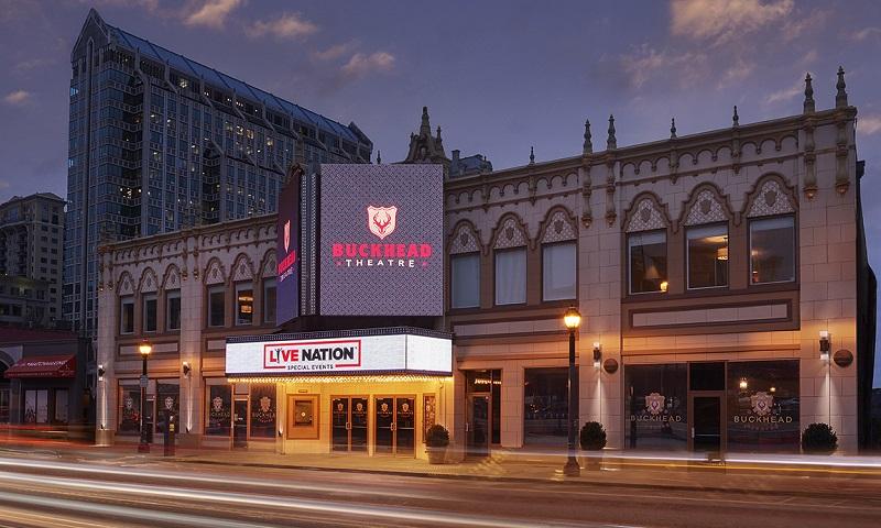 Buckhead Theatre, Atlanta's premier intimate theatrical venue