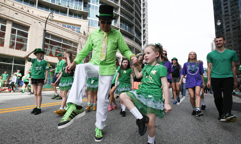 Who doesn't enjoy St. Patrick's Day? There are celebrations around the city.