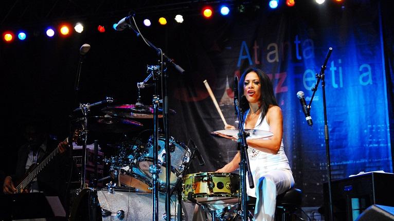 Drummer at Atlanta Jazz Festival