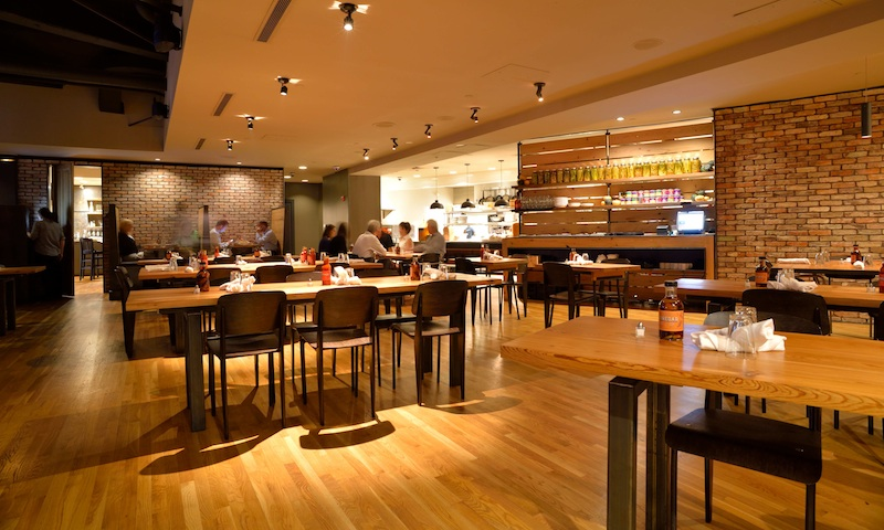 Tavernpointe's expansive space is great for large groups.