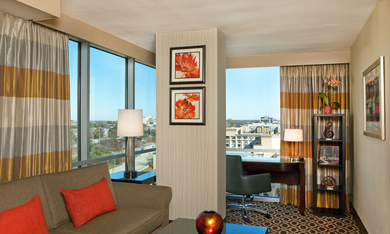 New, spacious corner suites are perfect for families.