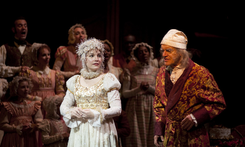 """""""A Christmas Carol"""" returns at the Alliance and other theaters."""