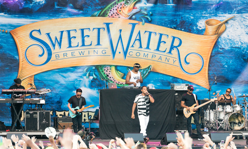 From Ludacris to Widespread Panic, Sweetwater 420 Festival hosts huge musical acts every year. (Gene Phillips, AtlantaPhotos.com)