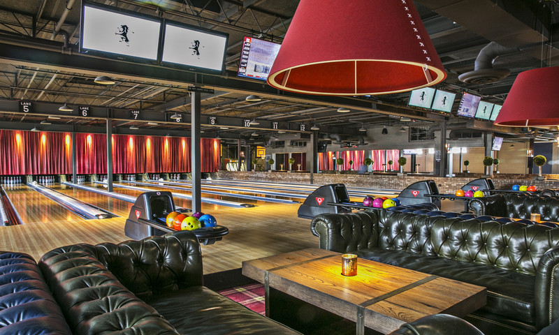 The Painted Pin is a fantastic playground for adults-bowling alley, Ping-Pong and adult beverages.