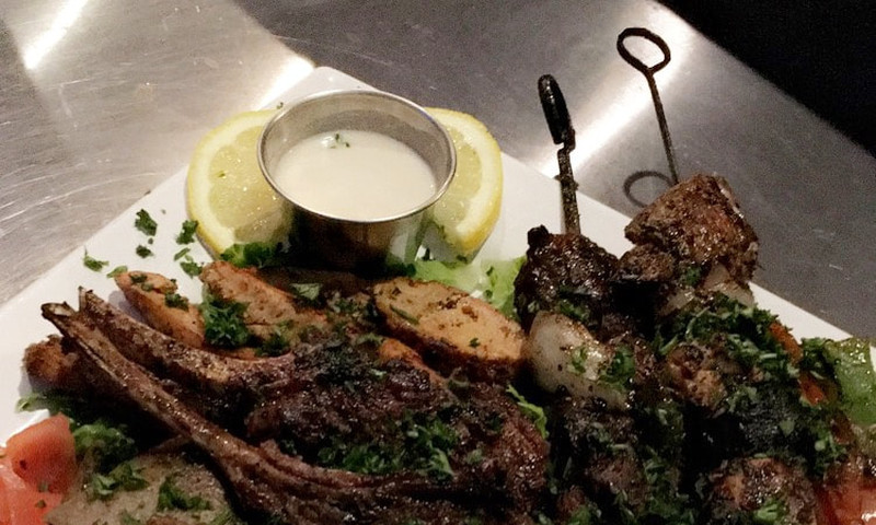 It's a Greek culinary delight at Olive Bistro in Midtown.