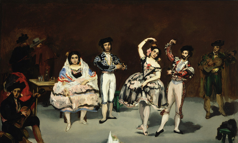 "See Edouard Manet's ""The Spanish Ballet"" in a new exhibit at the High Museum of Art."