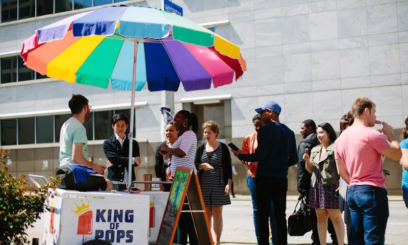 Atlantans love frozen treats from King of Pops.