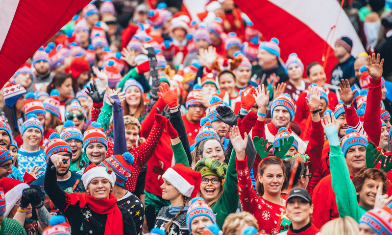 The Ugly Sweater Run is exactly what it sounds like. (Piedmont Park Ugly Sweater Run)