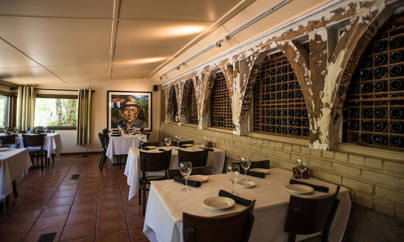 The gorgeous dining rooms at Portofino are perfect for a romantic evening.