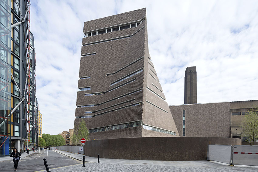 Tate Modern extension, The Switch House, London