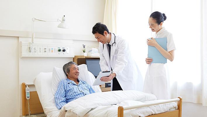 メインビジュアル : 入院患者がタブレット利用で自ら治療に取り組む ~愛知県がんセンター中央病院様~