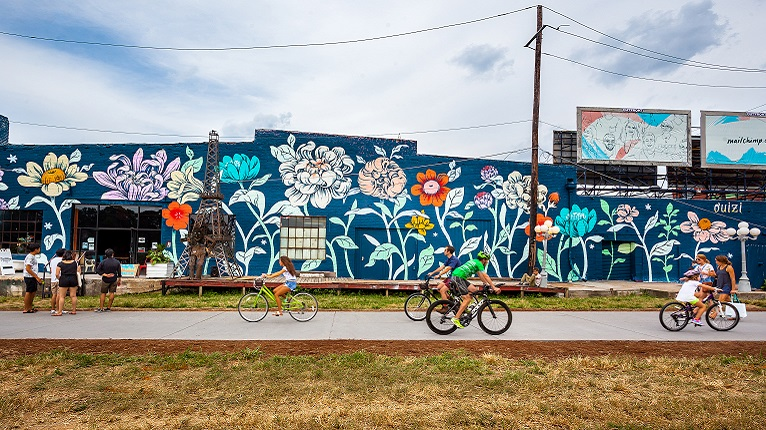 Mural on Atlanta's Beltline