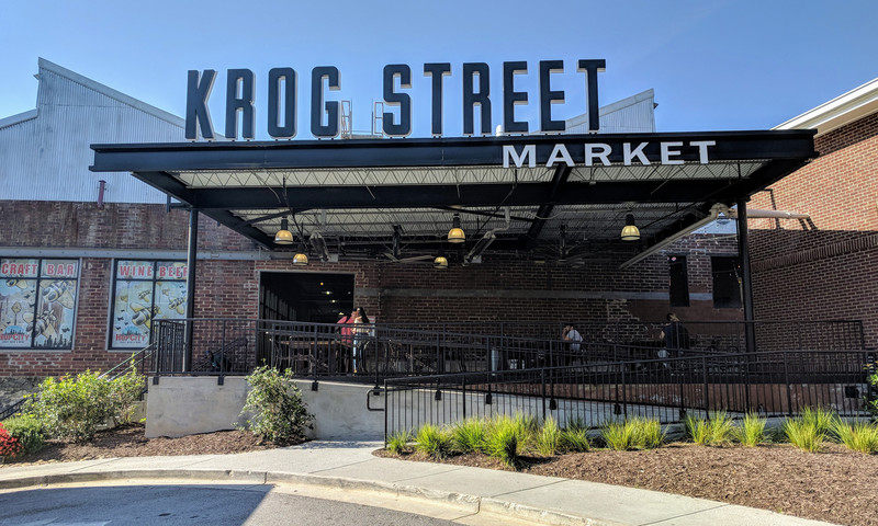 Krog Street Market is a trendy shopping location with a little bit of everything.