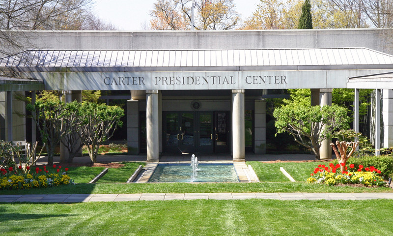 Find the Jimmy Carter Presidential Library & Museum in the Old Fourth Ward.