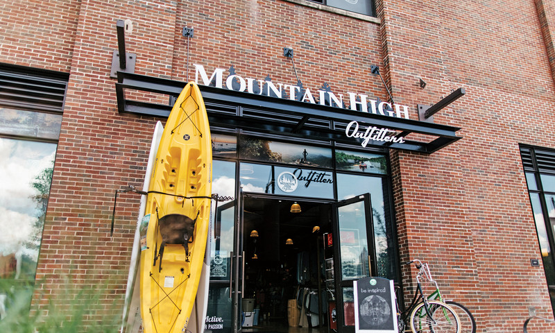 Get the outdoor apparel you need at Mountain High Outfitters. (GLO)