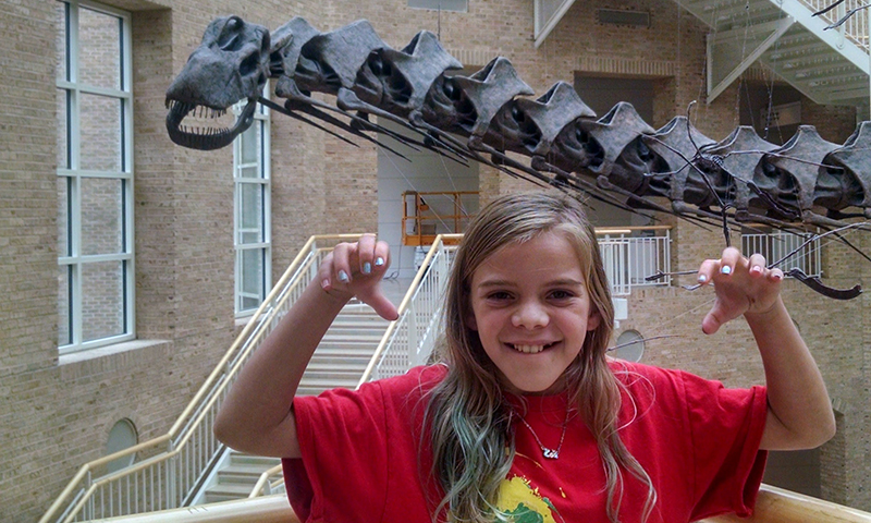 Get downloadable resources at Fernbank. (Jennifer DuVall)