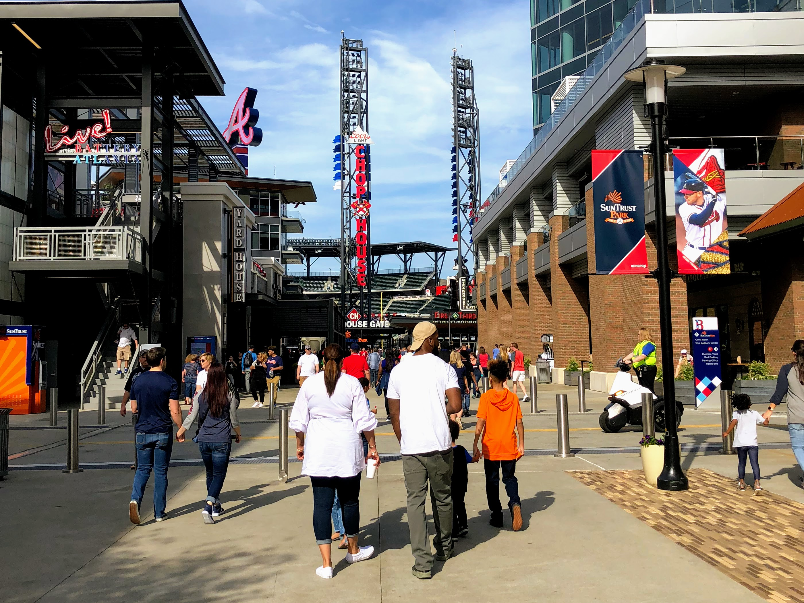 SunTrust Park and The Battery Atlanta are just a short drive from the city. (photo credit: @sdenisebelle)