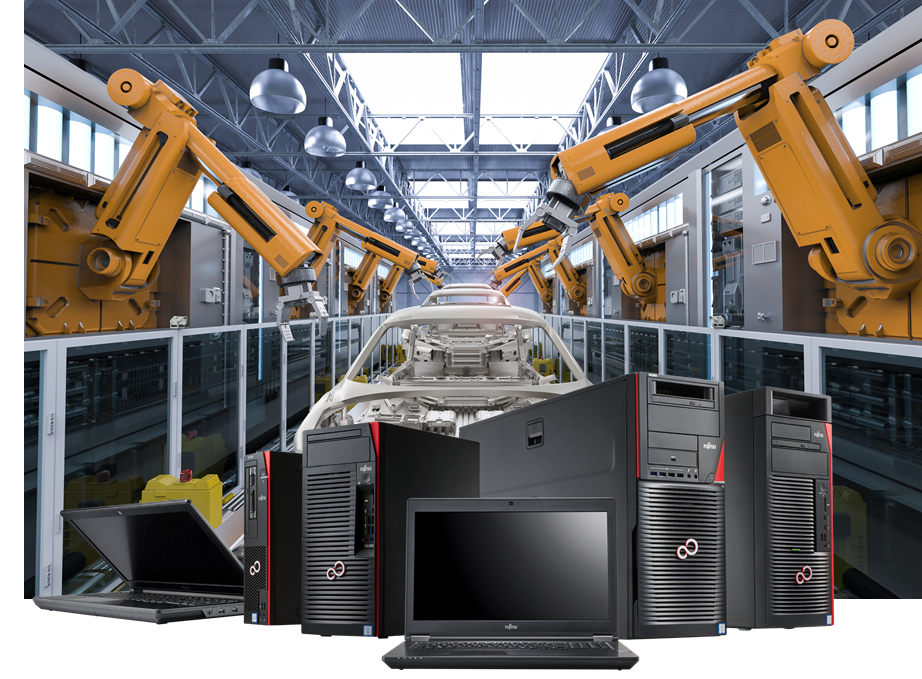 Main visual : Our new CELSIUS workstations reach new heights of security and performance