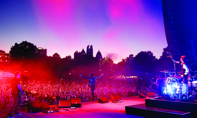 Rock out at Music Midtown this month. (Perry Julien)
