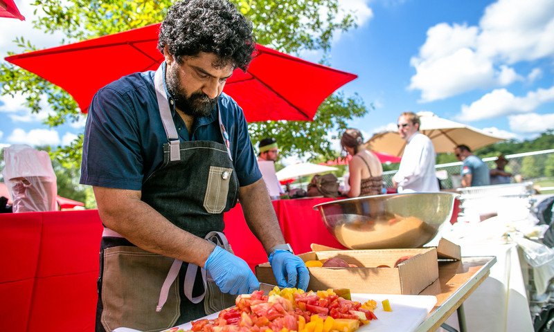 Tomatoes reign supreme at the 9th Annual Attack of the Killer Tomato Festival. (Erik Meadows Photography)