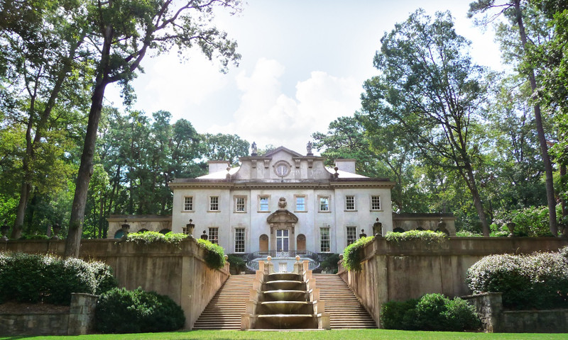 The 1920s Swan House is open for tours at Atlanta History Center.