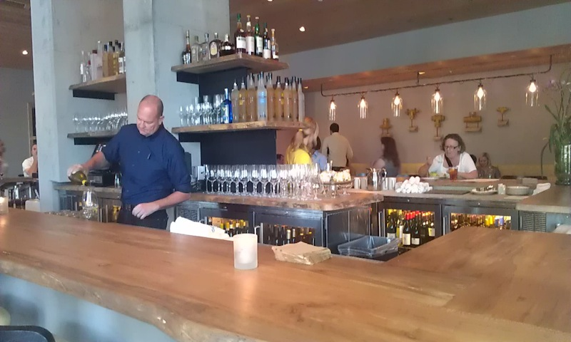 In addition to a beautiful space, Watershed has amazing Southern food.