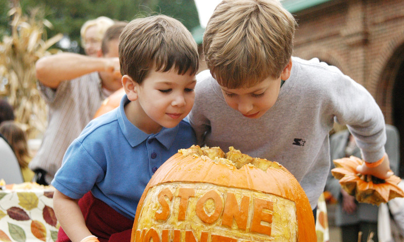 Stone Mountain's Pumpkin Festival starts at the end of the month.