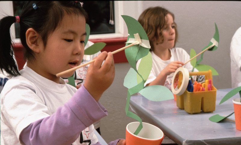 The Center for Puppetry Arts hosts children's workshops as well as puppet shows.