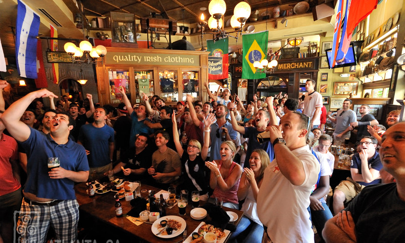 Fado's is a fantastic place to be for any football game or sports match.